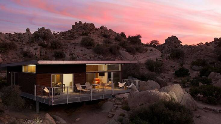 Vacation rental in the Mojave Desert