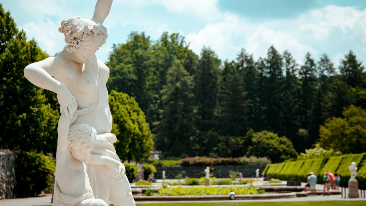 Views of the Biltmore Estate, Asheville: day trips in NC