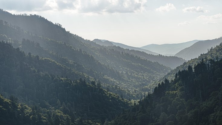 Great Smoky Mountains: camping near Asheville NC