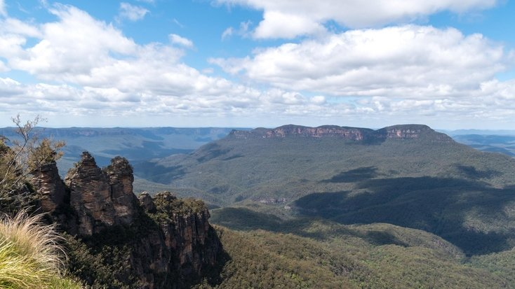 Views over the Blue Mountains, NSW