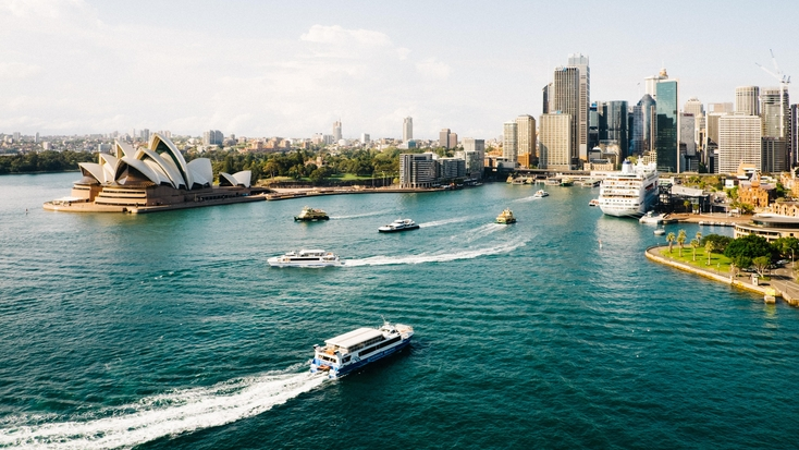 Views of Sydney Harbour: NSW holidays
