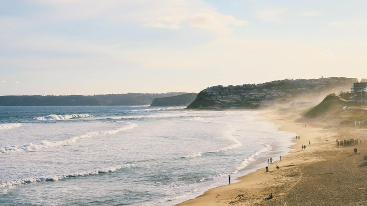 Beach views in NSW: destinations for holidays
