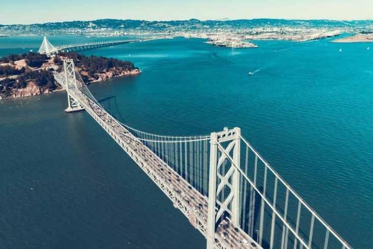 Best places to visit: Bay Area, San Francisco