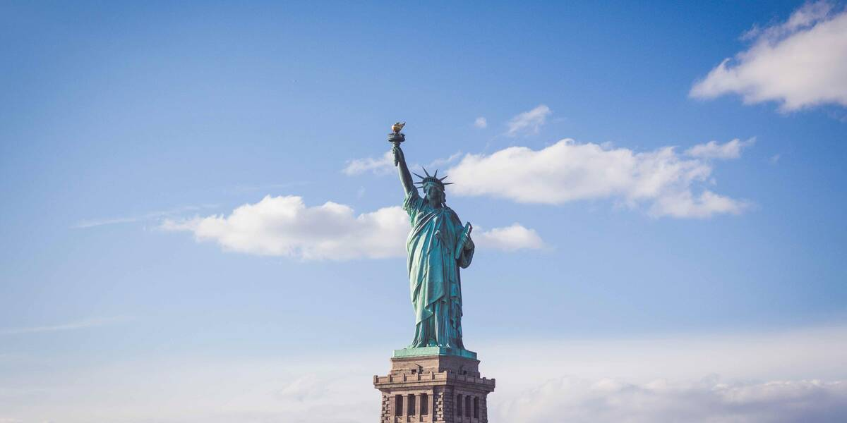 Statue of Liberty looks out over the best staycations in New York