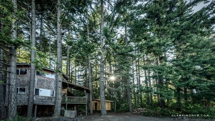 tree house washington, skiing rental available to book in 2020