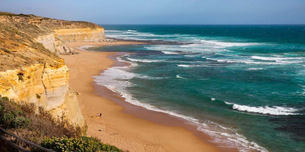 coastline of Victoria for luxury camping getaways and holidays in Australia