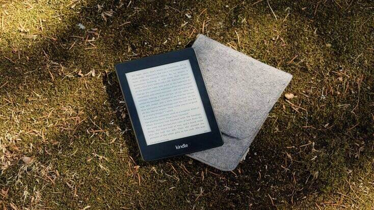 kindle and one of the gifts for men that have everything