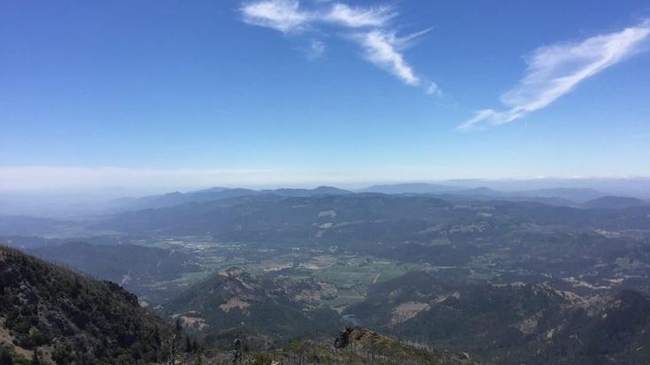 Robert Louis Stevenson State Park: camping accommodations await
