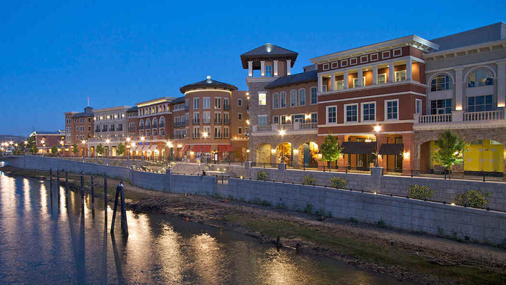 Riverside lights on your trips to Napa Valley:  getaway ideas