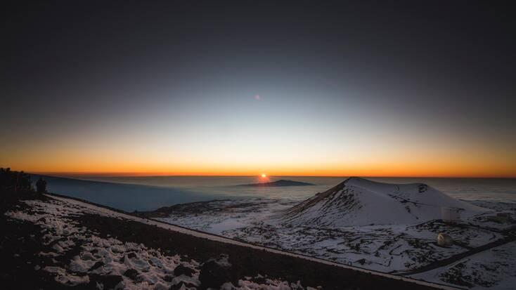 Peak of Mauna Kea: The Big Island, Hawaii