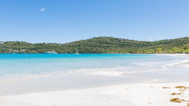 view of caribbean paradise form St. Croix vacation rentals