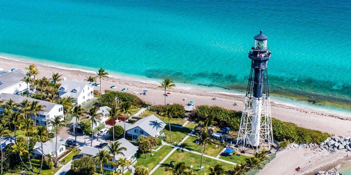Beach camping views for ideal glamping: Florida vacations 2021