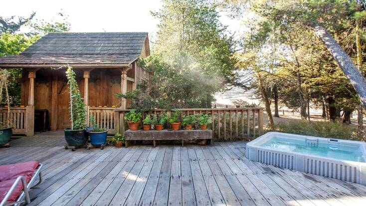 cabin rentals in california, one of the best places to visit in the fall