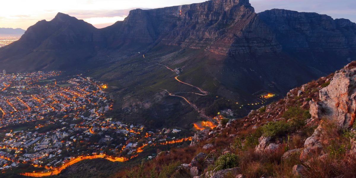 views of Cape Town 2020