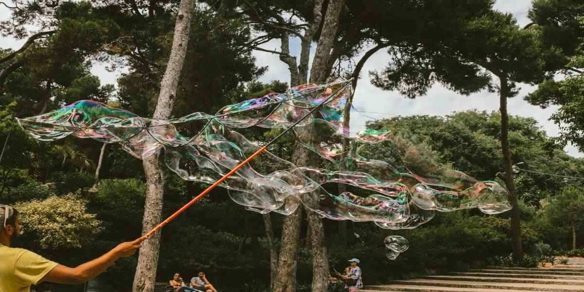 Top travel destinations 2020 including this great location with giant bubbles on show