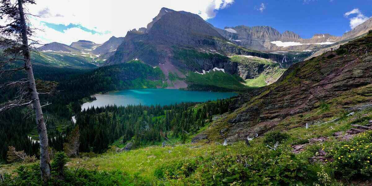 glacier national park and home of some interesting facts in the US