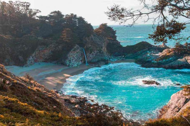 one of the top California beaches for glamping nearby in CA rentals