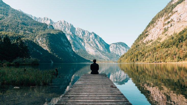 solo yoga retreat in wilderness