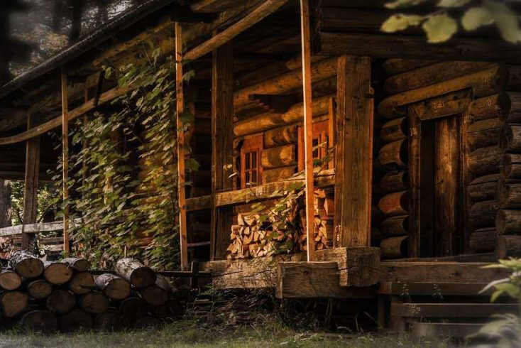 A cabin in the woods for a secluded vacation.