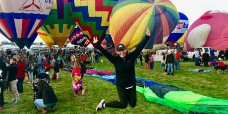 Glamping Hub meets the Albuquerque International Balloon Fiesta