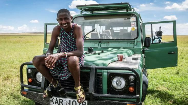 Luxury safari: tent rental available