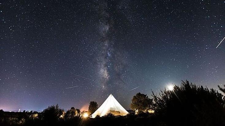 Stargazing 'near me': camping getaways