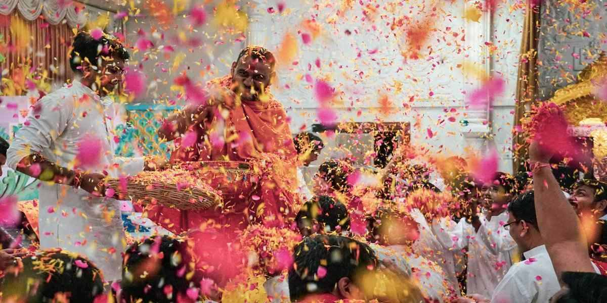 the festival of colors in India places to see