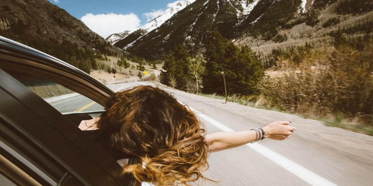 girl exploring the best national parks in usa for family and couples getaways in 2020
