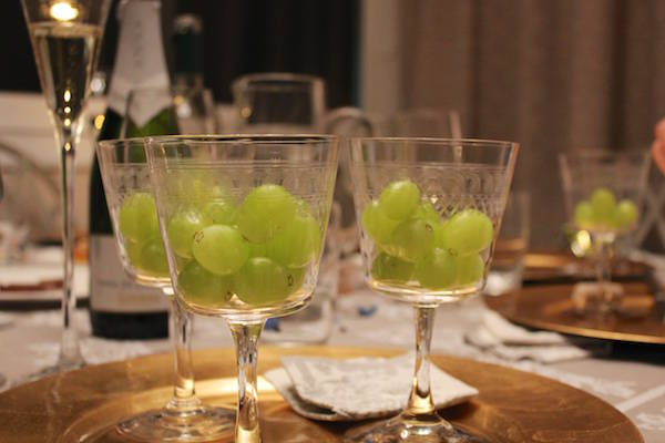 Eating 12 grapes; Spain traditions are great for things to do on New Year's Eve