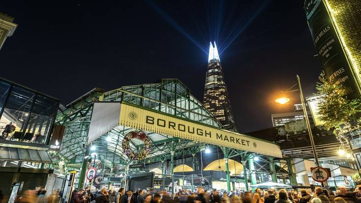 Head to Borough Market when you spend Christmas in London