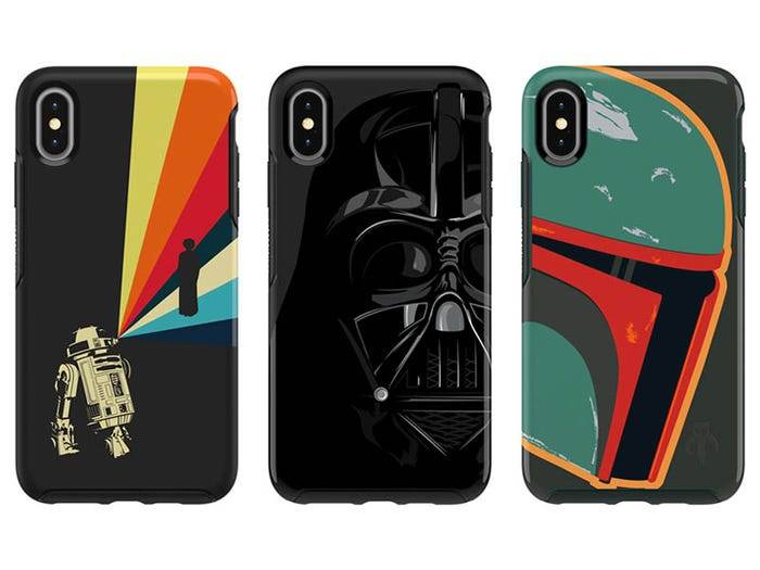 Phone cases with favorite characters are one of the best Christmas gifts for Star Wars fans this Christmas.