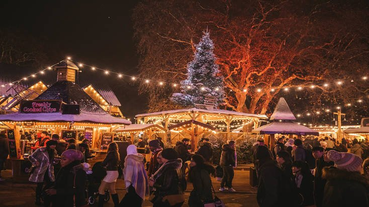 Christmas in London wouldn't be complete without a trip to the Hyde Park Winter Wonderland