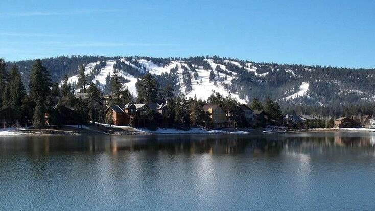 Views over Big Bear Lake, CA