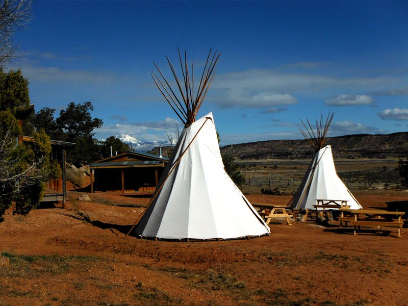 celebrate your nuptials with a stay in a rustic tipi in Utah