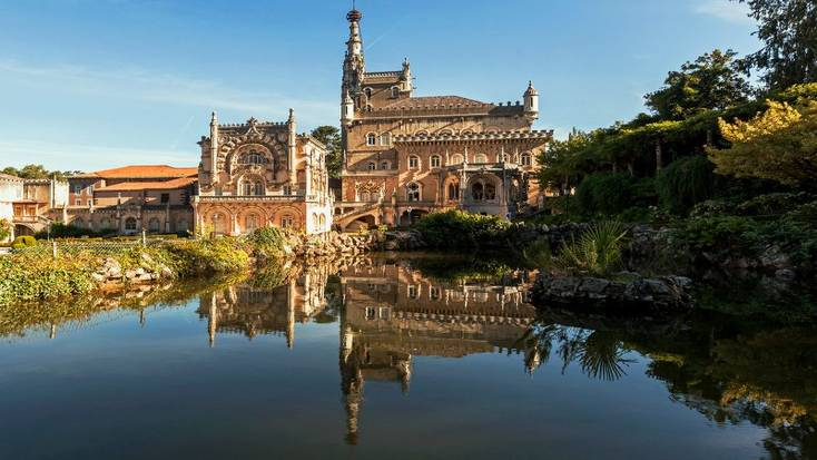 The Bussaco Palace Hotel is a must see when you head to Bairrada