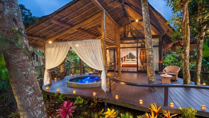 Escape to a luxury wellness retreat in Bali.