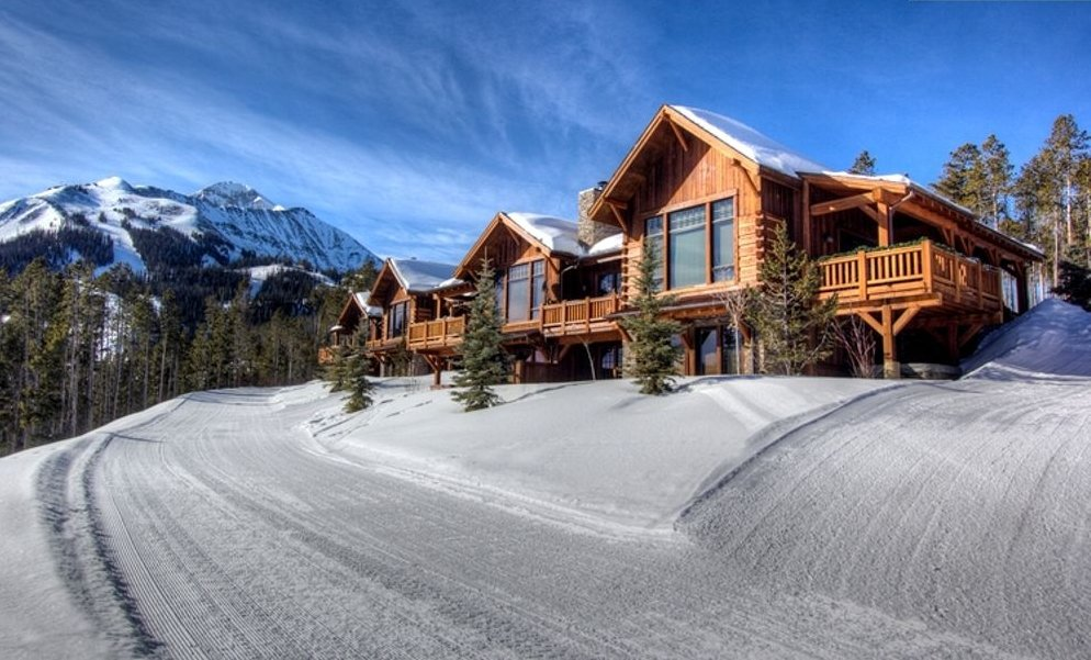 Slopes of cabin rental: Big Sky vacations