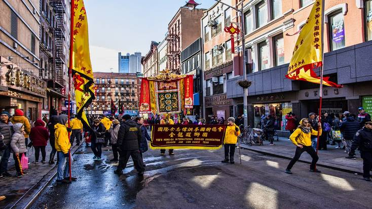 New York parade for the Lunar New Year