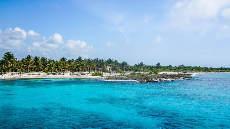 Cozumel is the best of the island getaways in Mexico