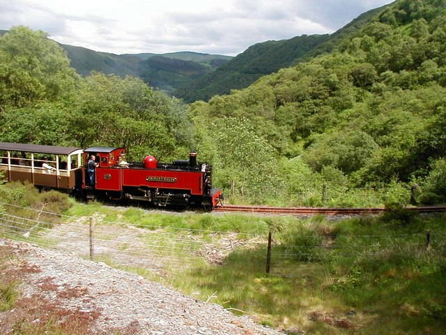 Ride the Cwm Rheidol steam train in Ceredigion