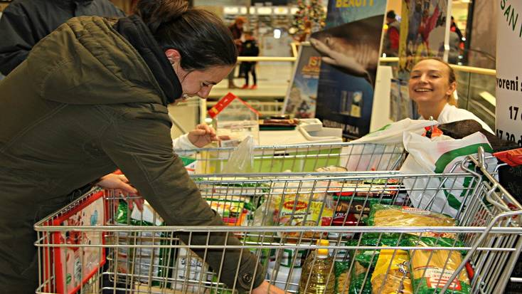 Donating to food banks is a great way to promote generosity.