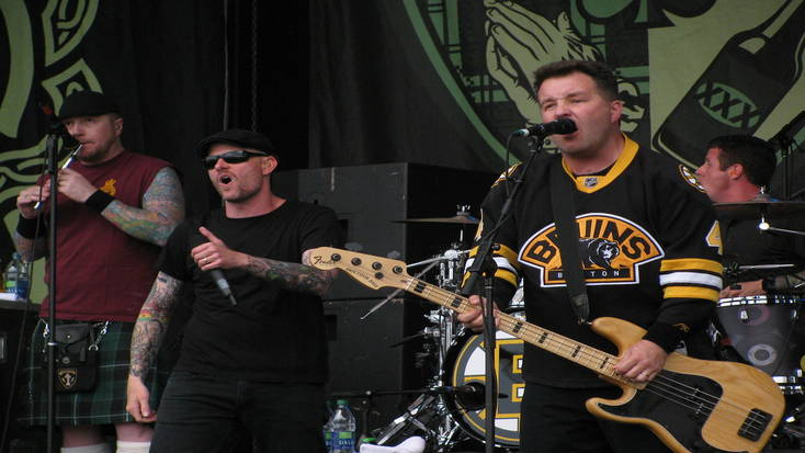 The Dropkick Murphys will be playing in Boston on St. Paddy's Day