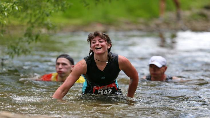 Participants in extreme and unusual marathons