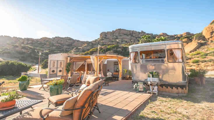 Glamping near LA is perfect for a California vacation