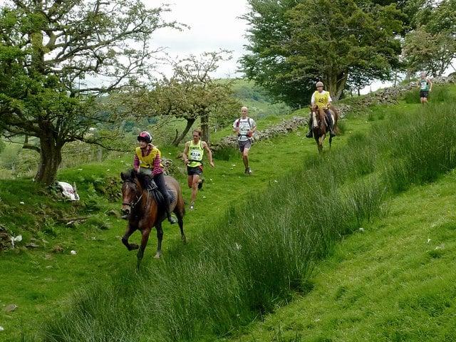 One of the most unusual marathons, the Man vs Horse marathon, Wales