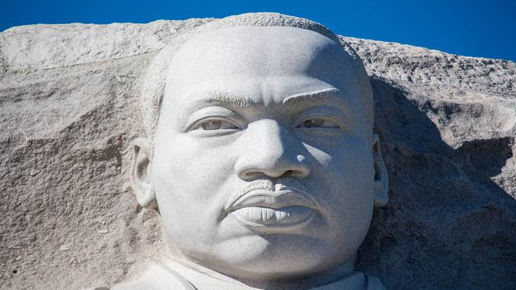 Visit the MLK monument in Washington DC to celebrate MLK Day, 2020