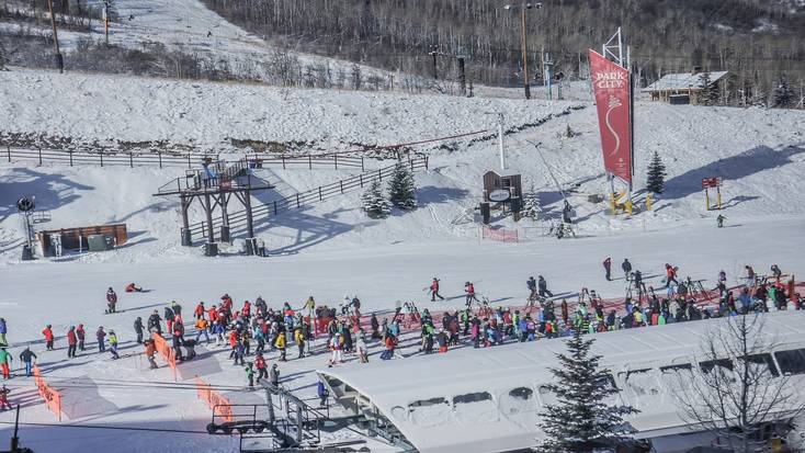 Check out Utah ski resorts like Park City Mountain Resort