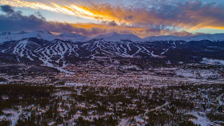 Enjoy a Breckenridge vacation with a ski trip.