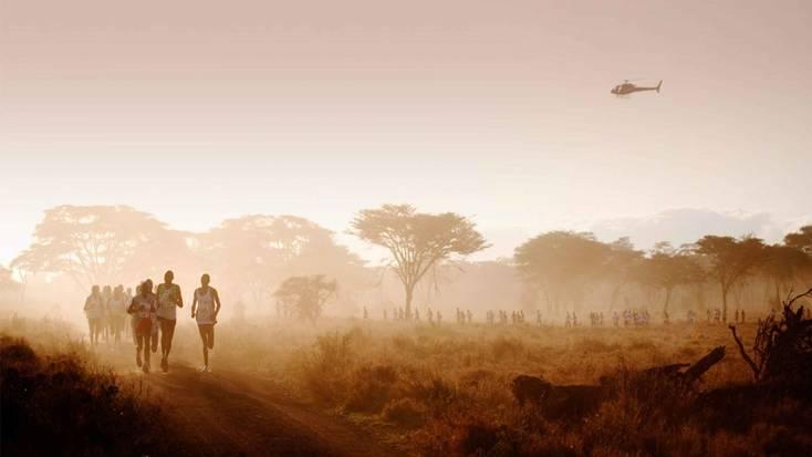 Run with African wildlife when you do the Safaricom Marathon, one of the world's unusual marathons