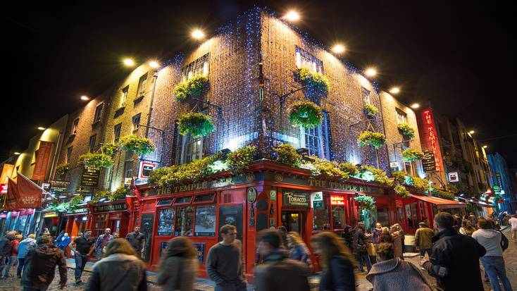 Dublin makes it onto our list of best places to spend St. Patrick's Day